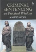 Cover of Criminal Sentencing as Practical Wisdom