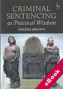 Cover of Criminal Sentencing as Practical Wisdom (eBook)