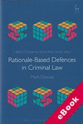 Cover of Rationale-Based Defences in Criminal Law (eBook)