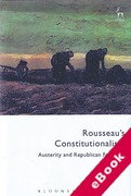 Cover of Rousseau's Constitutionalism: Austerity and Republican Freedom (eBook)