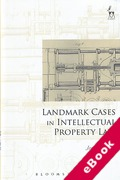 Cover of Landmark Cases in Intellectual Property Law (eBook)