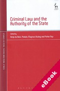 Cover of Criminal Law and the Authority of the State (eBook)