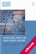 Cover of Surveillance, Privacy and Trans-Atlantic Relations (eBook)