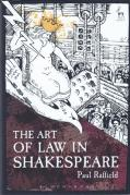 Cover of The Art of Law in Shakespeare
