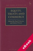 Cover of Equity, Trusts and Commerce (eBook)