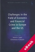 Cover of Challenges in the Field of Economic and Financial Crime in Europe and the US (eBook)