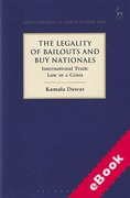 Cover of The Legality of Bailout and Buy Nationals: International Trade Law in a Crisis (eBook)