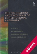 Cover of The Foundations and Traditions of Constitutional Amendment (eBook)