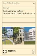 Cover of Amicus Curiae Before International Courts and Tribunals