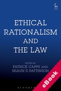 Cover of Ethical Rationalism and the Law (eBook)