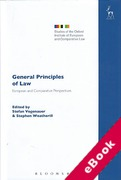 Cover of General Principles of Law: European and Comparative Perspectives (eBook)