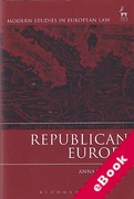 Cover of Republican Europe (eBook)