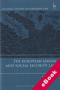 Cover of The European Union and Social Security Law (eBook)