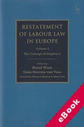 Cover of Restatement of Labour Law in Europe: Volume I The Concept of Employee (eBook)