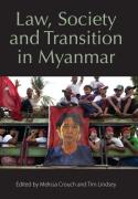 Cover of Law, Society and Transition in Myanmar