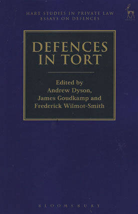 tort law defences hart studies in private law