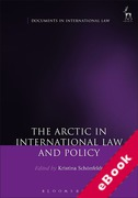 Cover of The Arctic in International Law and Policy (eBook)