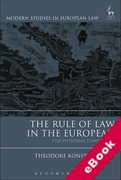 Cover of The Rule of Law in the European Union: The Internal Dimension (eBook)