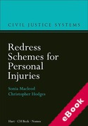 Cover of Redress Schemes for Personal Injuries (eBook)