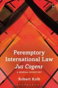 Cover of Peremptory International Law - Jus Cogens: A General Inventory