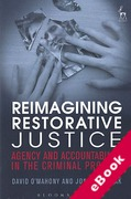 Cover of Reimagining Restorative Justice: Agency and Accountability in the Criminal Process (eBook)