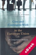 Cover of Core and Contingent Work in the European Union: A Comparative Analysis (eBook)