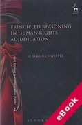 Cover of Principled Reasoning in Human Rights Adjudication (eBook)