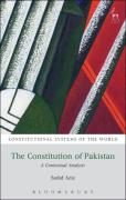 Cover of The Constitution of Pakistan: A Contextual Analysis