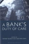 Cover of A Bank's Duty of Care