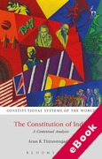 Cover of The Constitution of India: A Contextual Analysis (eBook)