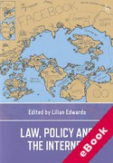 Cover of Law, Policy and the Internet (eBook)