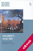 Cover of Parliament's Secret War (eBook)