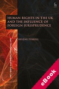 Cover of Human Rights in the UK and the Influence of Foreign Jurisprudence (eBook)