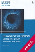 Cover of Permanent States of Emergency and the Rule of Law: Constitutions in an Age of Crisis (eBook)