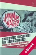 Cover of Smart Public Procurement and Labour Standards: Pushing the Discussion after RegioPost (eBook)