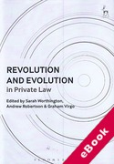 Cover of Revolution and Evolution in Private Law (eBook)