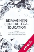 Cover of Reimagining Clinical Legal Education (eBook)