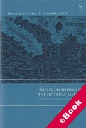 Cover of Social Legitimacy in the Internal Market: A Dialogue of Mutual Responsiveness (eBook)