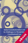 Cover of Global Constitutionalism and Its Challenges to the Westphalian Constitutional Law (eBook)