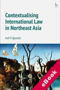 Cover of Contextualising International Law in Northeast Asia (eBook)
