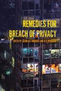 Cover of Remedies for Breach of Privacy