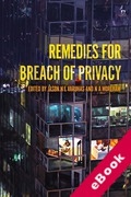 Cover of Remedies for Breach of Privacy (eBook)