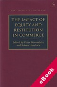Cover of The Impact of Equity and Restitution in Commerce (eBook)