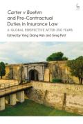 Cover of Pre-Contractual Duties in Insurance Law: Carter v Boehm (1766) After 250 Years
