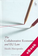 Cover of The Collaborative Economy and EU Law (eBook)