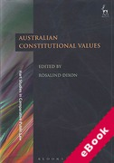 Cover of Australian Constitutional Values (eBook)
