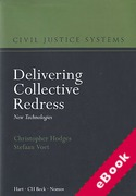 Cover of Delivering Collective Redress: New Technologies (eBook)