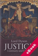 Cover of Justice: Continuity and Change (eBook)