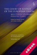 Cover of The Court of Justice of the European Union: Multidisciplinary Perspectives (eBook)