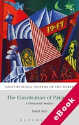 Cover of The Constitution of Pakistan: A Contextual Analysis (eBook)